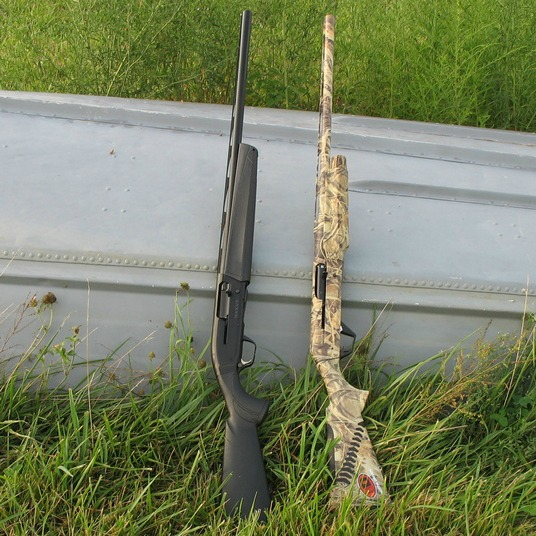 Browning Maxus and Benelli SBE-II