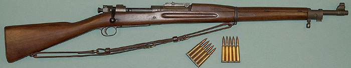 Model of 1903 Springfield Rifle