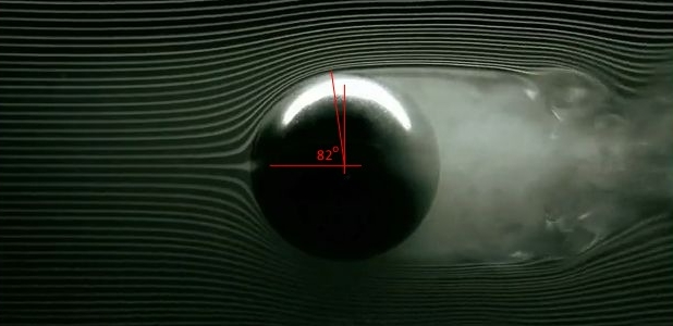sphere and shock wave