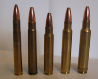 Medium bore African cartridges