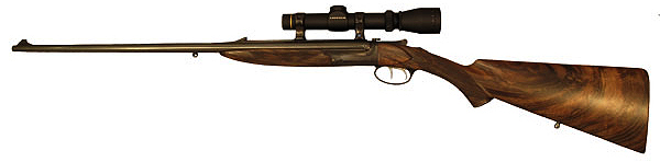 Bailey Bradshaw .22 Hornet Double-Barreled Rifle