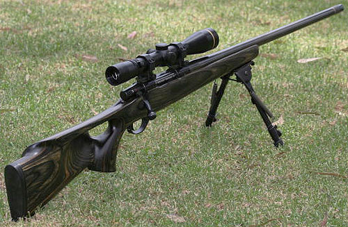 Custom built 6.5x47 rifle.