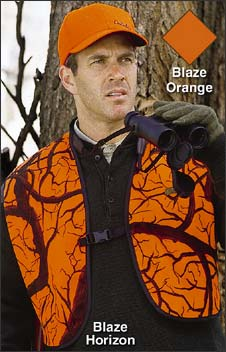Cabela's Fleece Blaze Horizon Three-Quarter Vest