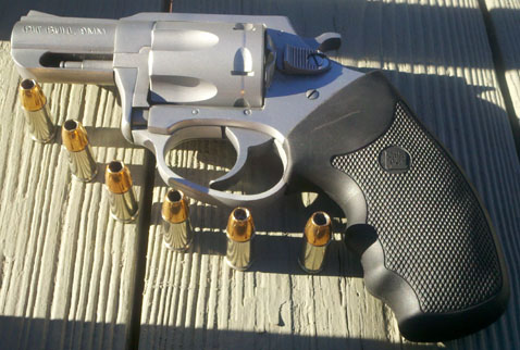 Charter Arms Pitbull 9x19mm Revolver