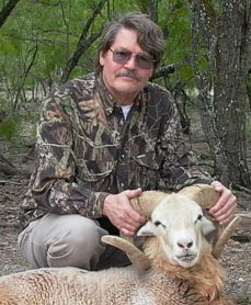 Chuck Hawks with Texas cinnamon Dall sheep trophy