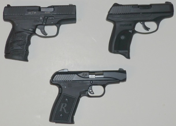 concealed carry 9mm pistol comparison remington r51 ruger lc9s