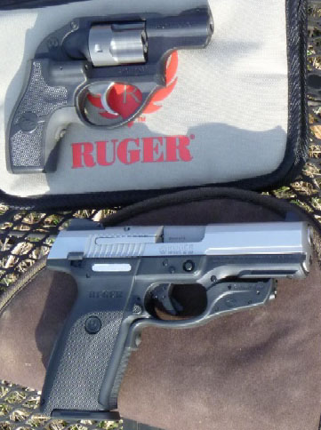 Crimson Trace Lases for Ruger LCR and Ruger SR9