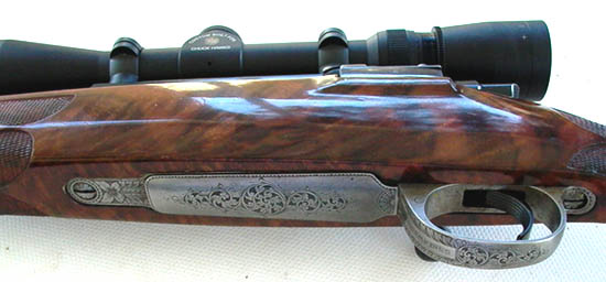 Custom Mauser 98 rifle by Larry Brace