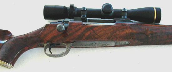 Mauser 98 Custom Built Rifle by Larry Brace