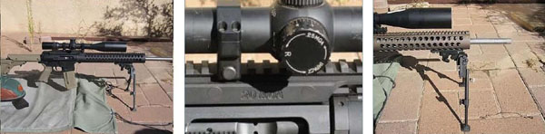 F-Class F-AR15 rifle photos.