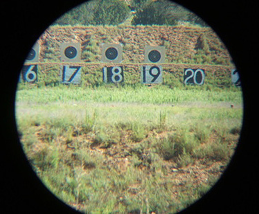 24-inch targets through 45x scope