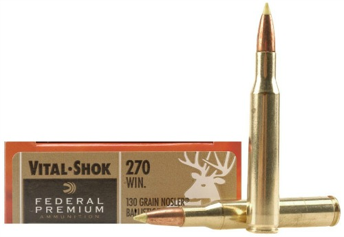 Federal .270 Win. cartridges