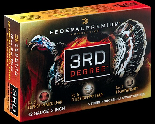 Federal 3rd Degree Turkey Shotshells