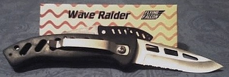 Flying Falcon Wave Raider Knife