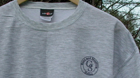 G&S Online Gray T-shirt - front