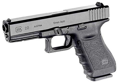 Image result for GLOCK 20 10mm pistol