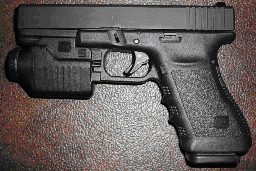 Glock Model 21 as reviewed