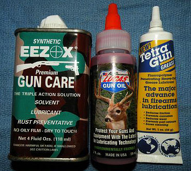Modern Gun Cleaners and Lubricants