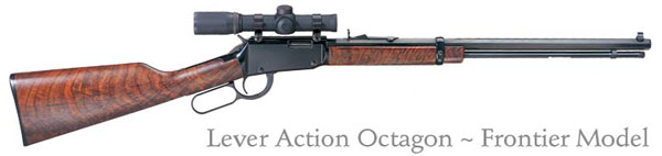 Henry Lever Action Frontier Octagon Barrel Rifle