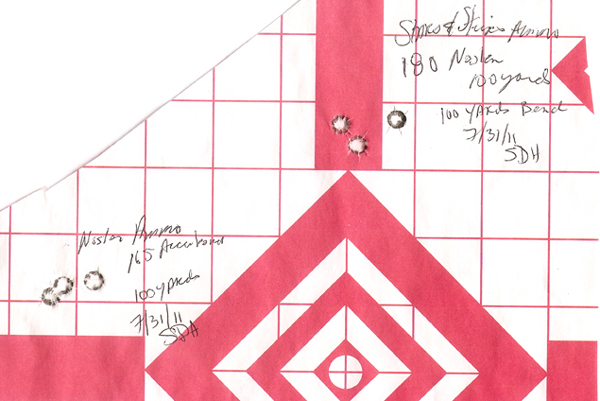 Hughes-Hagn rifle target
