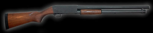 Ithaca Model 37 Defense Pump Shotgun