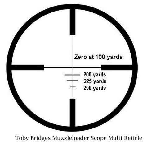 TB-ML 3-9X40mm Scope Reticle