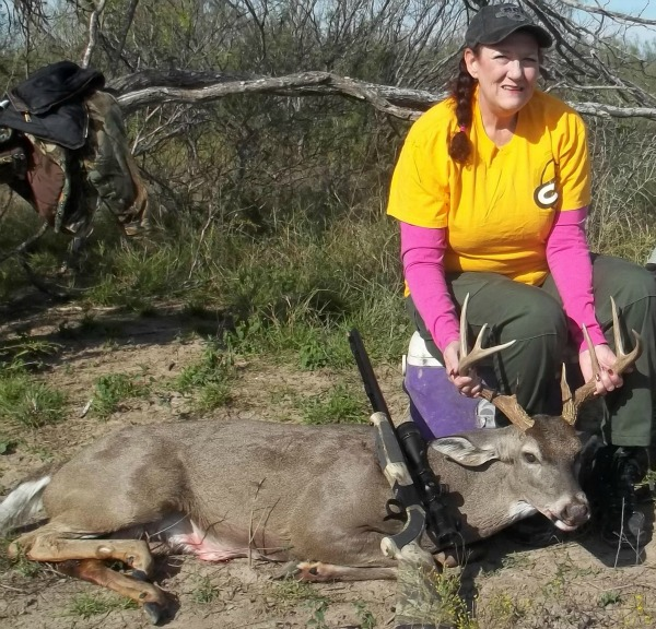Mary's 10-point whitetail.