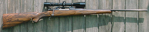 Custom Mauser 98 rifle