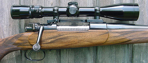 Custom Mauser 98 rifle action