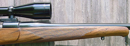 Custom Mauser 98 rifle forend