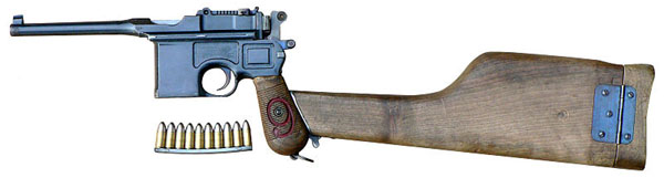 Mauser C96 Red 9