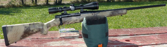 Mossberg Patriot Bolt-Action Rifle .270 Winchester.