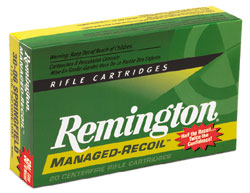 Remington ammo box.