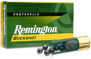 Remington buckshot ammo box.