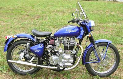 2004 Royal Enfield, modified