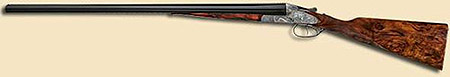 Meisterwerkflinte side-by-side shotgun