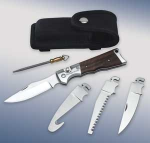 Hunter's Edge knife set