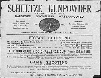 Schultz Powder label