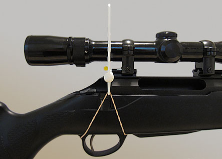 Segway Reticle Leveler on rifle