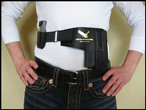 Wearing Stealth Defense Strut Holster
