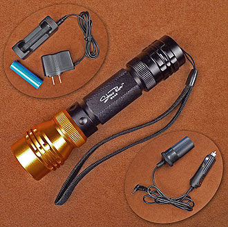Stone River Gear Rechargeable LED Flashlight