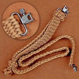 Stone River Adjustable Paracord Rifle Sling
