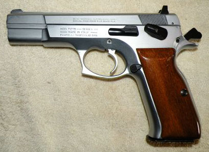 The Tanfoglio TZ-75 Series 88 Pistol