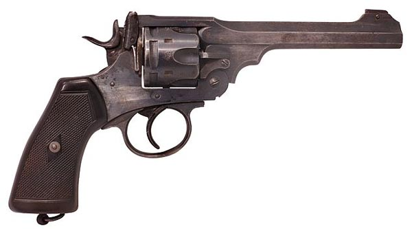 Webley and Scott .455 calibre Revolver.