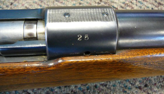 Winchester Model 70 Serial #25