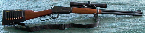 Winchester Model 94 Scout rifle