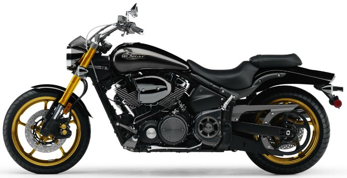 2010Yamaha Road Star Midnight Warrior